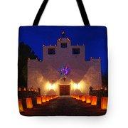 Luminaria Saint Francis De Paula Mission Tote Bag