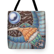 Luminosity - Study In Opal And Pearl Tote Bag
