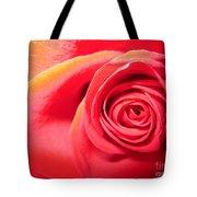 Luminous Red Rose 1 Tote Bag
