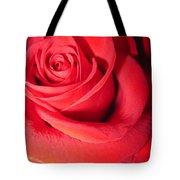 Luminous Red Rose 6 Tote Bag