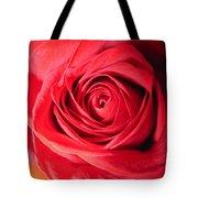 Luminous Red Rose 7 Tote Bag