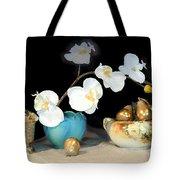 Luminous Watercolor Orchids Tote Bag