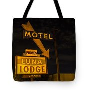 Luna Lodge Night Tote Bag