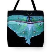 Luna Moth Mirrored Tote Bag