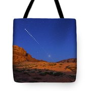 Lunar Eclipse Sequence From Monument Tote Bag