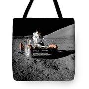 Lunar Ride Tote Bag
