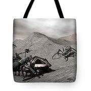 Lunar Vehicle In Distress Tote Bag