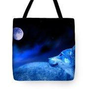 Lunar Wolf 2 Tote Bag
