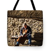 Lunch Break At The Forge Tote Bag