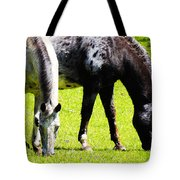 Lunch For Two Green Options Tote Bag