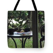 Lunch Guests Al Fresco Tote Bag