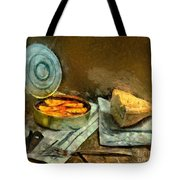 Lunch In Times Of Crisis Tote Bag