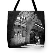 Lunchtime At Chelsea Market Tote Bag by Rona Black