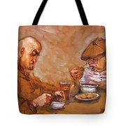Lunchtime At Tim  Tote Bag