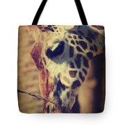 Lunchtime Twigs Tote Bag