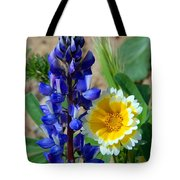 Lupine And Tidy Tip Tote Bag