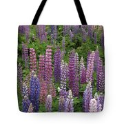 Lupine Mix Tote Bag