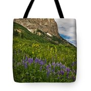 Lupines On The Hillside Tote Bag