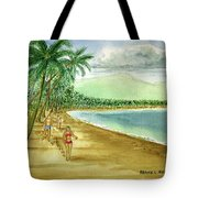 Luquillo Beach And El Yunque Puerto Rico Tote Bag