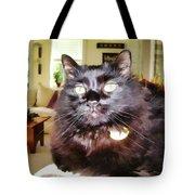 Lura Leigh Kitty Tote Bag