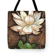 Lure Of The Lotus Tote Bag by VLee Watson