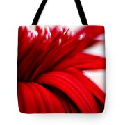 Luscious Red Flower Tote Bag
