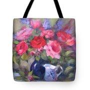Luscious Roses Tote Bag