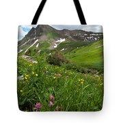 Lush Colorado Summer Landscape Tote Bag