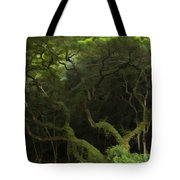 Lush Green Tote Bag