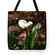 Lush Lily Tote Bag