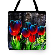 Lustrous Tulips Tote Bag