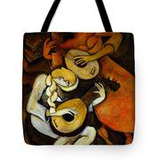 Lute Players Tote Bag
