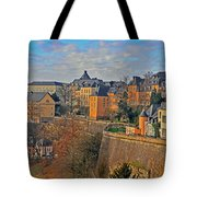 Luxembourg Fortification Tote Bag