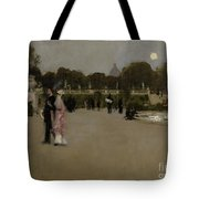Luxembourg Gardens At Twilight Tote Bag by John Singer Sargent