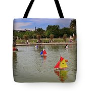 Luxembourg Gardens Paris Tote Bag