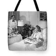 Luxurious Room Service Tote Bag