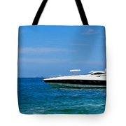 Luxury Boat Tote Bag by Aged Pixel
