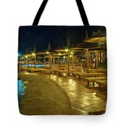 Luxury Hotel At Night Tote Bag