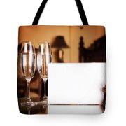 Luxury Hotel Room Tote Bag