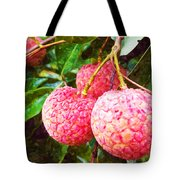 Lychee Fruit  Tote Bag