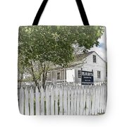 Lydia Leister Farm - Civil War Hospital Tote Bag
