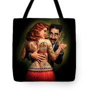 Lydia The Tattooed Lady Tote Bag