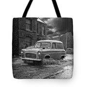 Lye Rain Storm, Ford Prefect Van - 1960's    Ref-244 Tote Bag