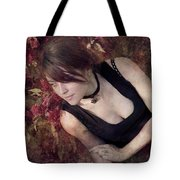 Lying Awake On A Bed Of Flowers Tote Bag