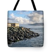 Lyme Regis - View Towards Charmouth Tote Bag