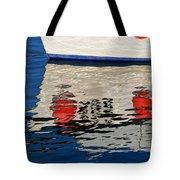 Lyme Regis Harbour - December Tote Bag
