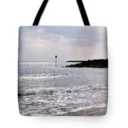 Lyme Regis Seascape - March Tote Bag
