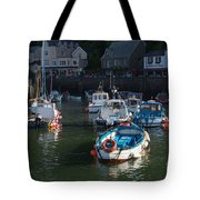 Lynmouth Harbour Devon Tote Bag