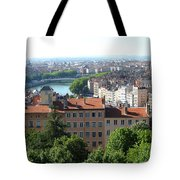 Lyon From Above Tote Bag
