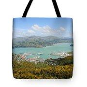 Lyttelton Harbor Tote Bag